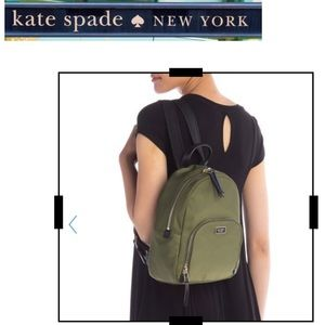 NWT kate spade new york dawn medium nylon backpack